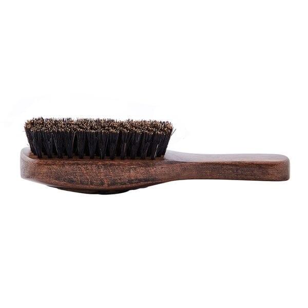 Купить Щетка для укладки бороды, с ручкой, натуральная щетина, 8-рядная фото 1