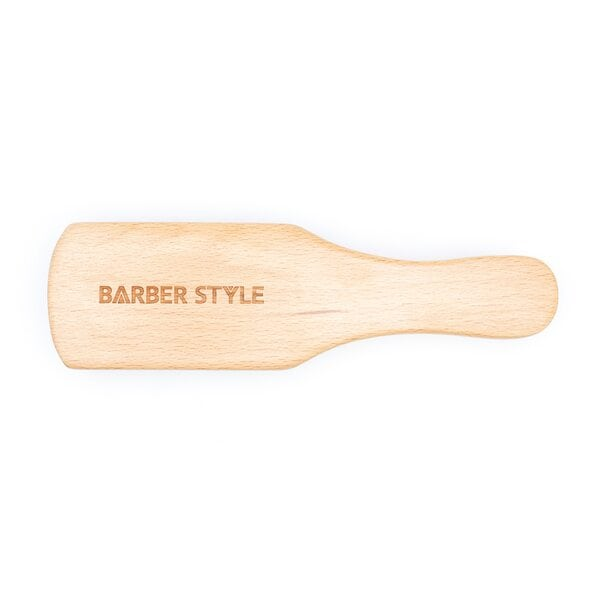 Купить Щетка для укладки волос и бороды, натуральная щетина, 7-рядная фото 1