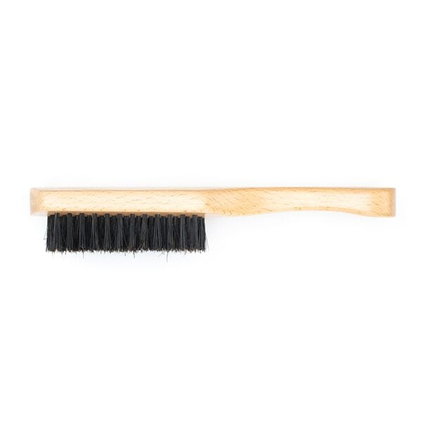 Купить Щетка для укладки волос и бороды, натуральная щетина, 7-рядная фото 2
