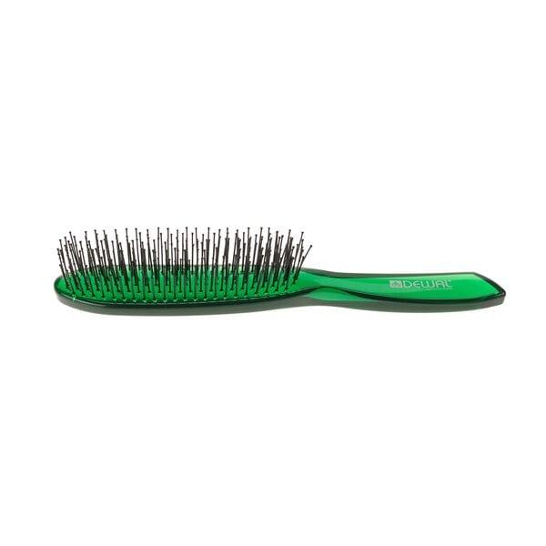 Щетка с нейлоновой щетиной, цвет зеленый 6 рядная