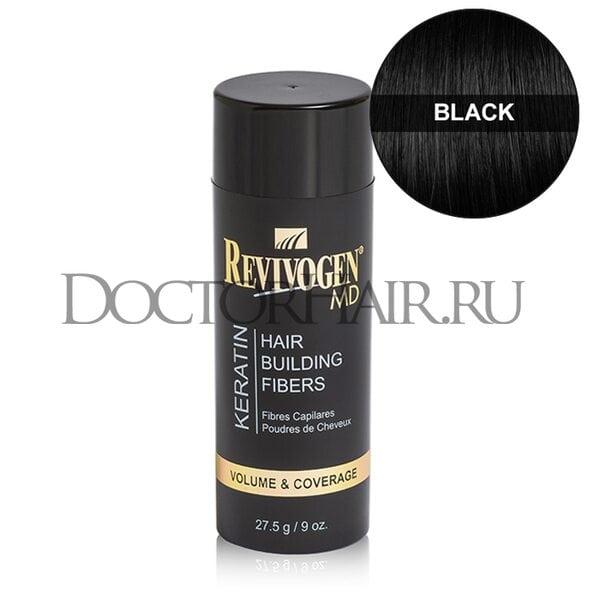 Купить Кератиновый загуститель волос Revivogen MD (черный) фото