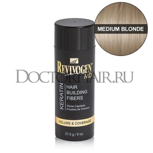 Купить Кератиновый загуститель волос Revivogen MD (средний-блонд) фото