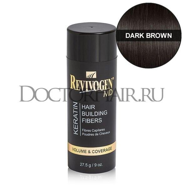 Купить Кератиновый загуститель волос Revivogen MD (темно-коричневый) фото