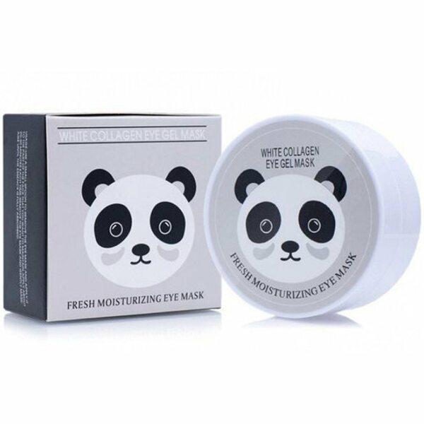 Гидрогелевые патчи с экстрактом белого жемчуга и коллагеном Sersanlove White Collagen Eye Gel Mask, 90г/60шт