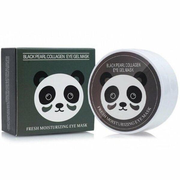 Купить Гидрогелевые патчи с экстрактом черного жемчуга и коллагеном Sersanlove Black Collagen Eye Gel Mask, 90г/60шт фото