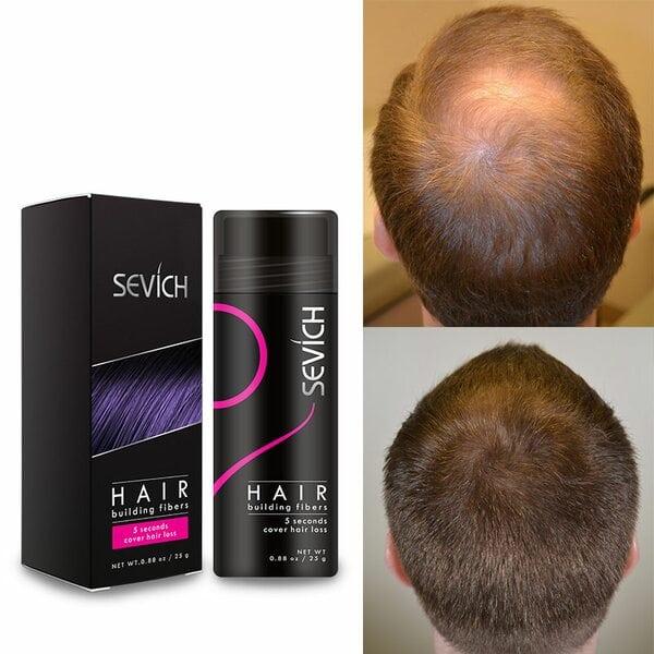 Купить Загуститель для волос Sevich (черный), 25 гр фото 2