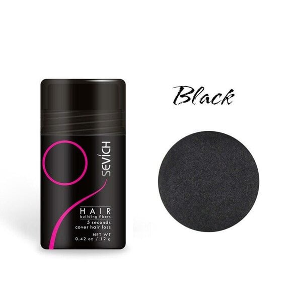Купить Загуститель для волос Sevich (черный), 12 гр фото