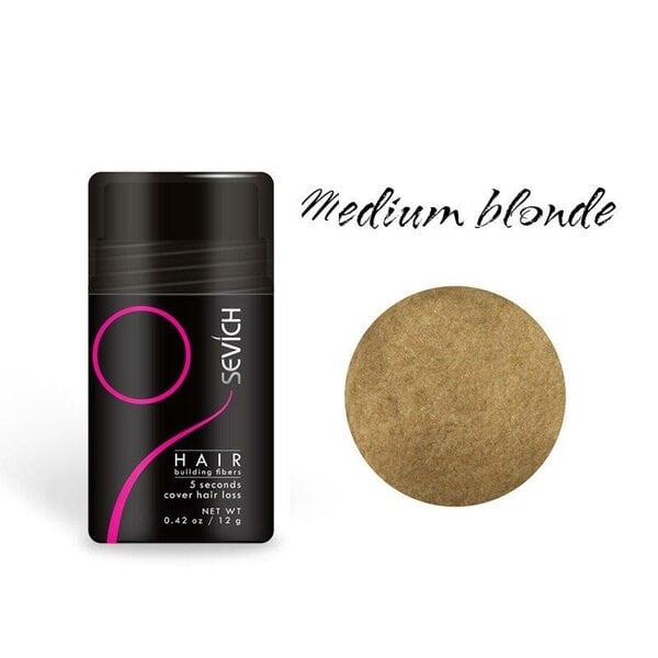 Загуститель для волос Sevich (средний-блонд, medium blonde), 12 гр