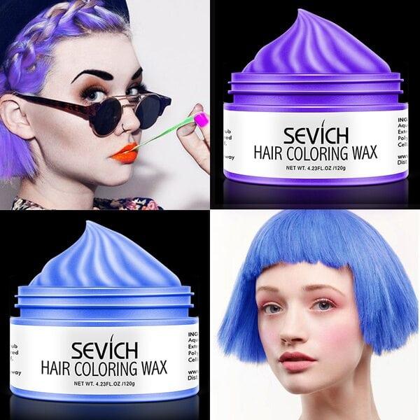Купить Воск - временная краска для волос Sevich (красный), 100 гр фото 3