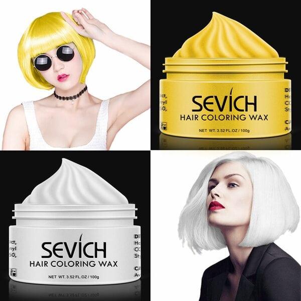 Купить Воск - временная краска для волос Sevich (красный), 100 гр фото 1