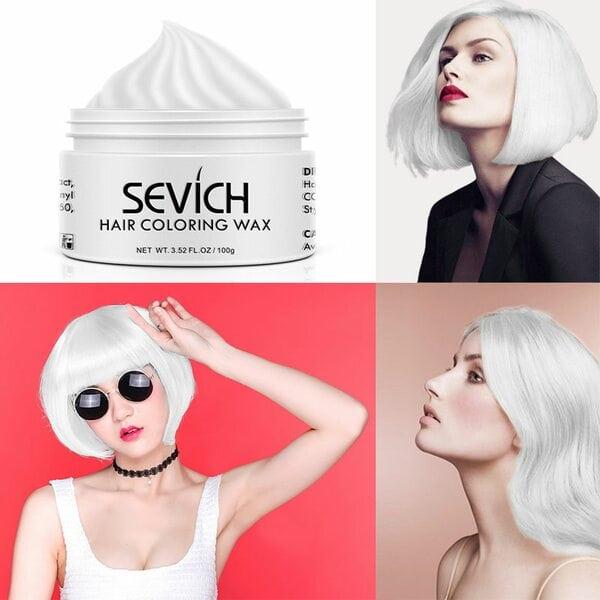 Купить Воск - временная краска для волос Sevich (красный), 100 гр фото 2