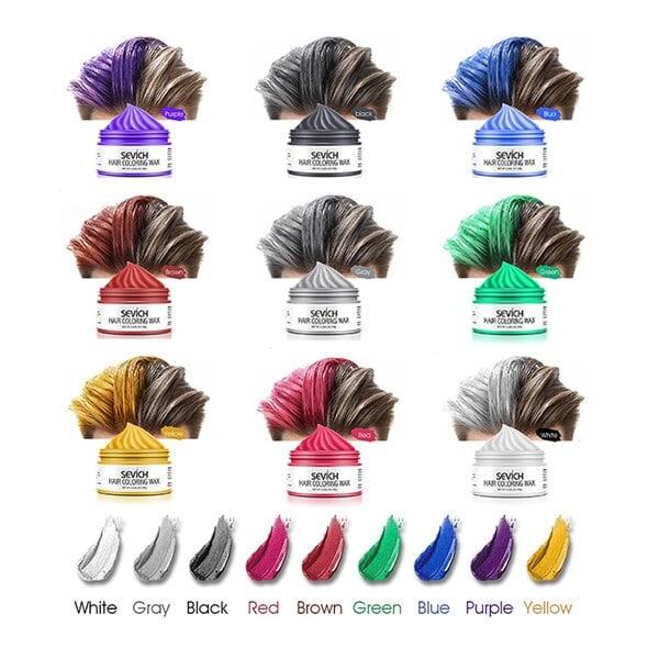 Купить Воск - временная краска для волос Sevich (красный), 100 гр фото 6