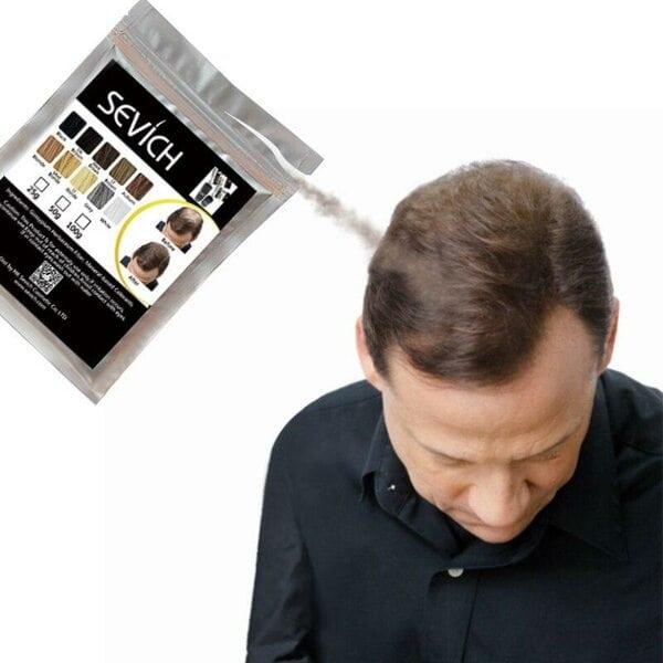 Купить Загуститель для волос светло-коричневый Sevich, 25 гр (рефил) фото 2