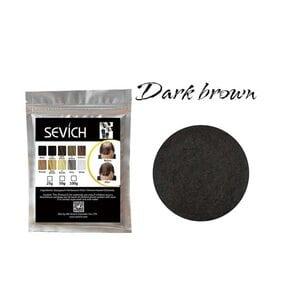 Загуститель для волос темно-коричневый Sevich, 25 гр (рефил)