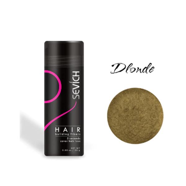 Загуститель для волос Sevich (блонд, blonde), 25 гр