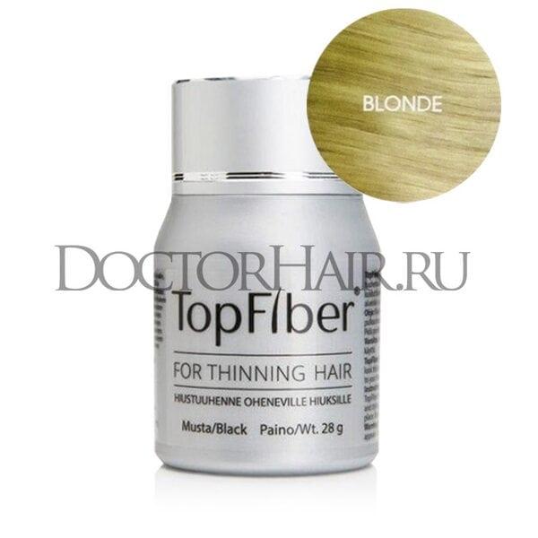 TopFiber Финский кератиновый загуститель волос (блонд)