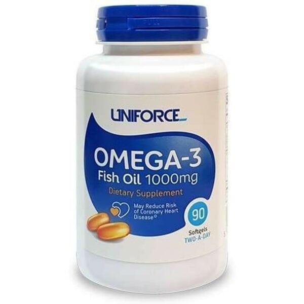 Купить Uniforce Omega-3 1000 мг 90 капсул фото