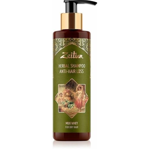 Фито-шампунь Зейтун против выпадения волос с молочной сывороткой 200 мл