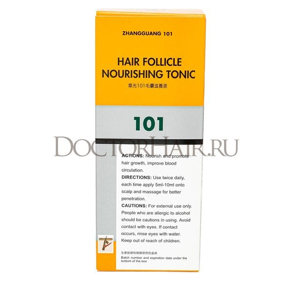 Купить Лосьон  Zhangguang 101 Hair Follicle Nourishing Tonic (export-packing) для волос, 120 мл фото 2