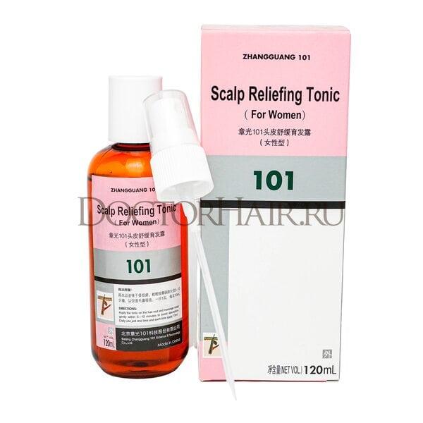 Купить Лосьон Zhangguang 101 Scalp Reliefing Tonic (for women) (export-packing) для волос, 120 мл фото