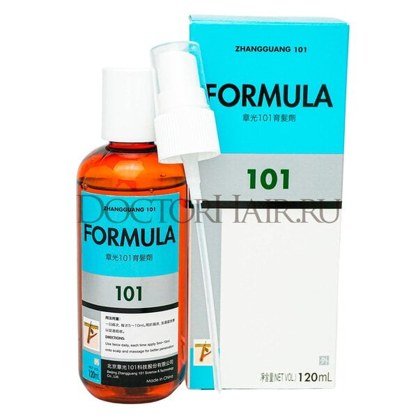 Лосьон Zhangguang 101 Formula (export-packing) для волос, 120 мл