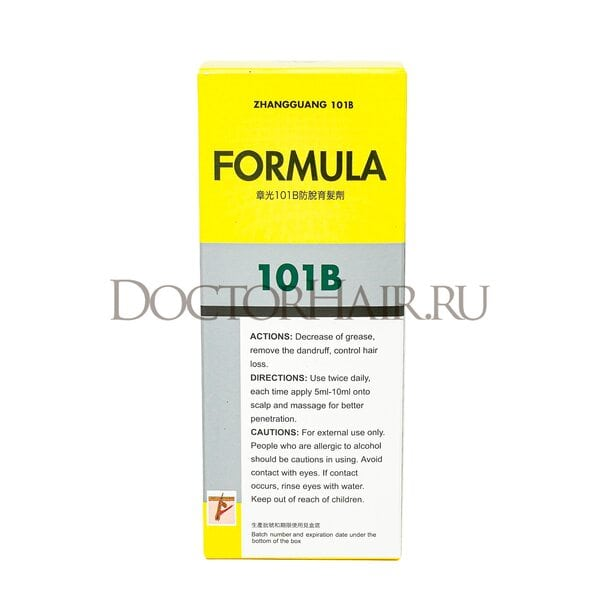 Купить Лосьон  Zhangguang 101 B Formula (export-packing) для волос, 120 мл фото 2