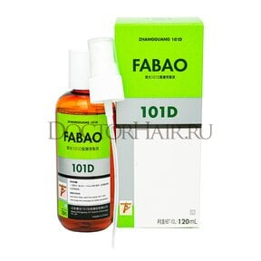 Лосьон  Zhangguang 101 D Fabao (export-packing) для волос, 120 мл