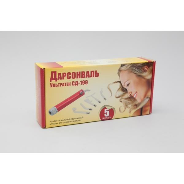 Купить Дарсонваль для волос УЛЬТРАТЕК СД-199  (5 электродов) фото 4