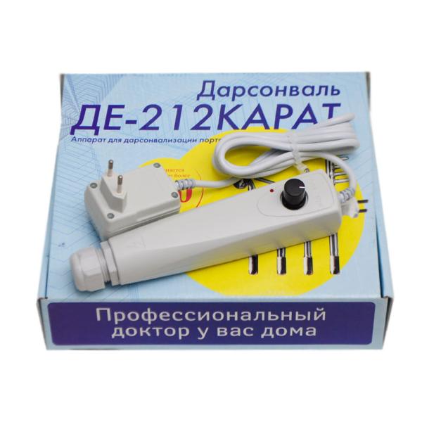 Купить Дарсонваль для волос КАРАТ ДЭ-212  (4 электрода) фото 2
