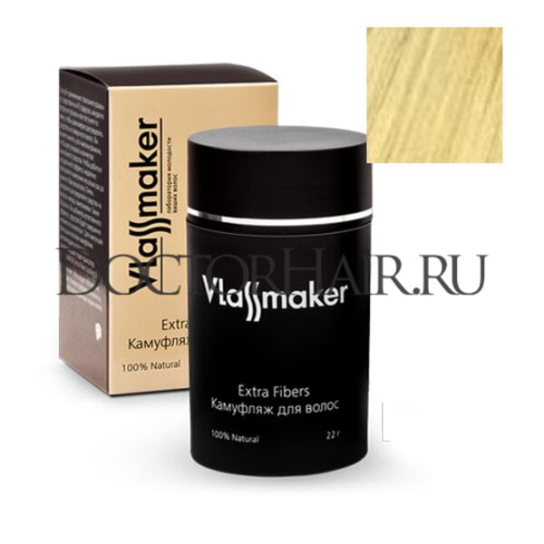 Камуфляж для волос Vlassmaker (светлый блонд)