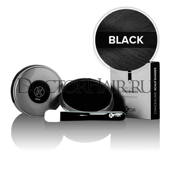 Купить Пудра камуфляж от Kmax для волос (черный) фото