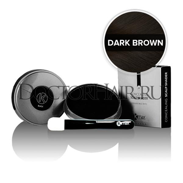 Купить Пудра камуфляж от Kmax для волос (темно-коричневый) фото