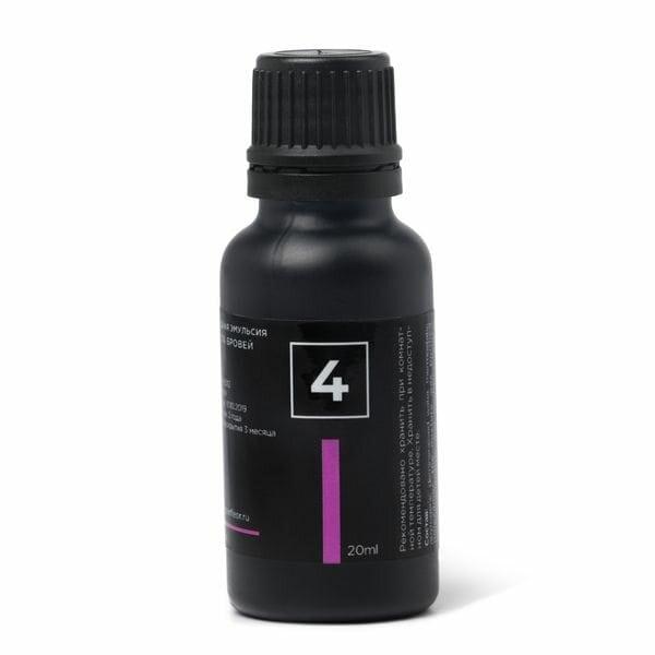 Купить Кислородная эмульсия для роста бровей №4 Perfleor, 20 мл фото