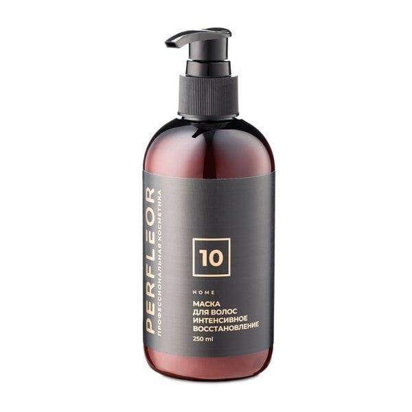 Купить Маска для волос интенсивное восстановление №10 Perfleor, 250 мл фото