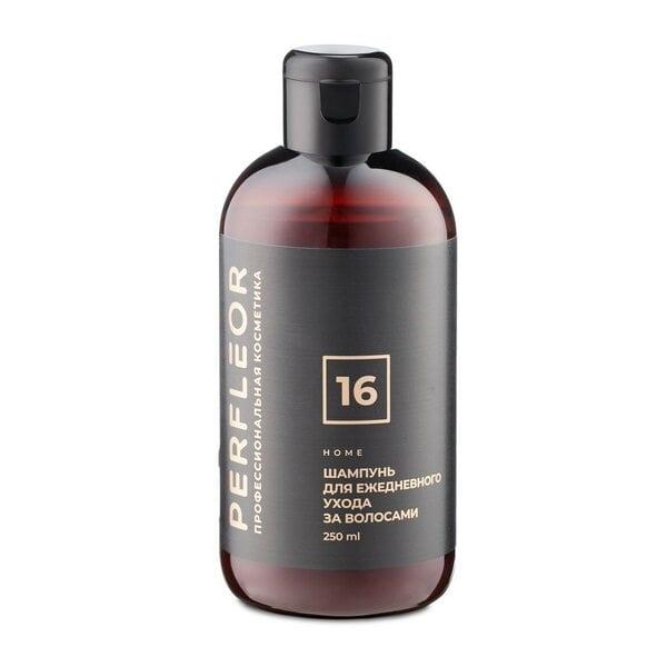 Купить Шампунь Ежедневный уход для нормальных волос №16 Perfleor, 250 мл фото