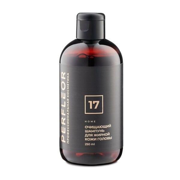 Купить Шампунь Очищающий для жирной кожи головы №17 Perfleor, 250 мл фото