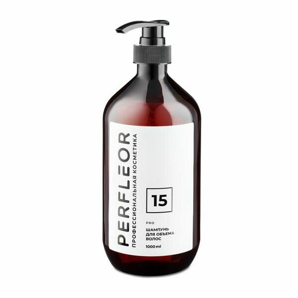 Шампунь для объема волос №15 Perfleor, 1000 мл