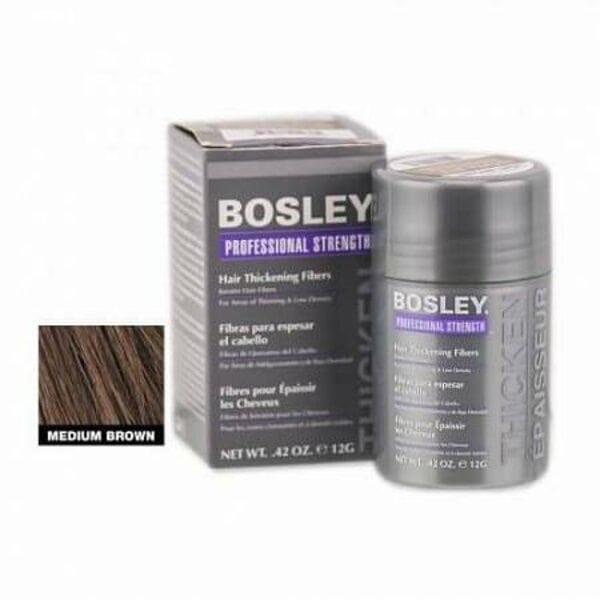 Купить Bosley кератиновые волокна - средне-коричневые фото