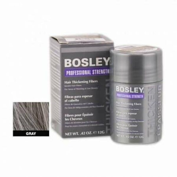 Bosley кератиновые волокна - седой