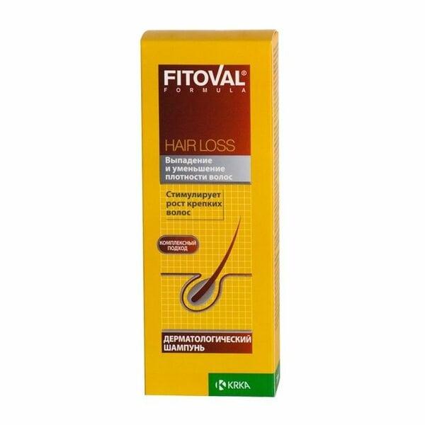 Фитовал шампунь против выпадения волос