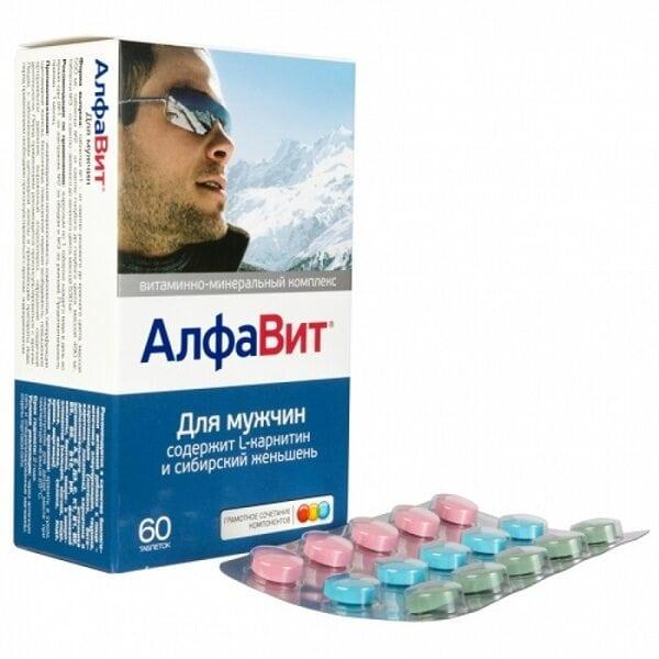 Купить Витаминно-минеральный комплекс АлфаВит для мужчин фото