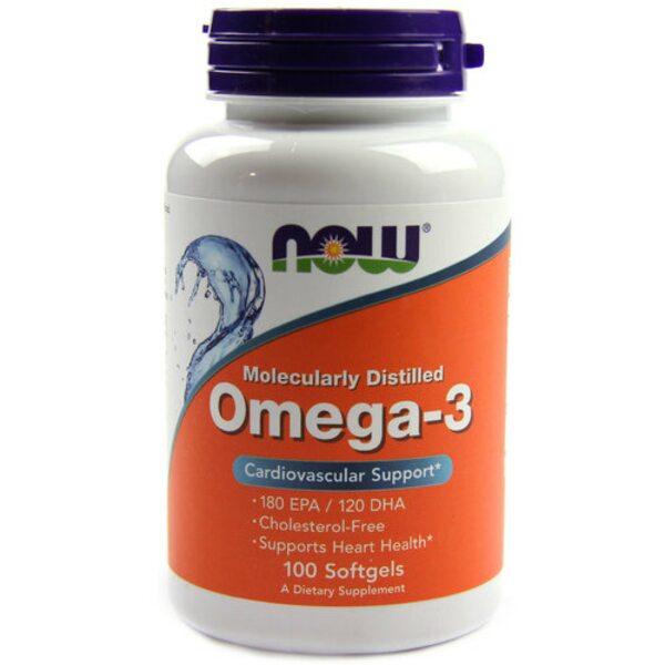 Омега-3 1400 мг, 100 капсул