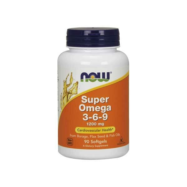 Купить Супер Омега 3-6-9 1600 мг, 90 капсул фото