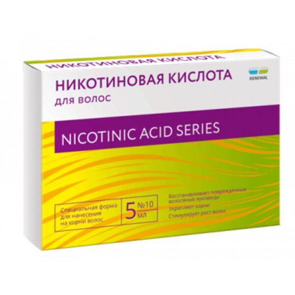 Купить Никотиновая кислота для волос  фото