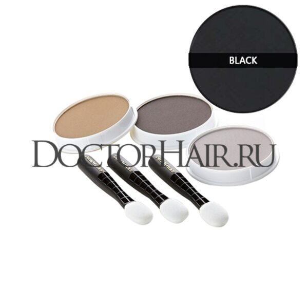 Купить Пудра для волос DermMatch (черный) фото