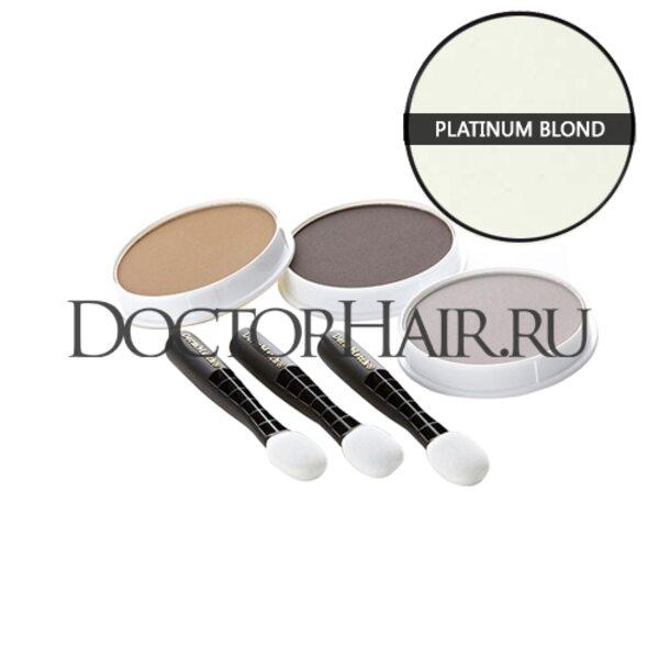 Пудра для волос DermMatch (платиновый блонд)