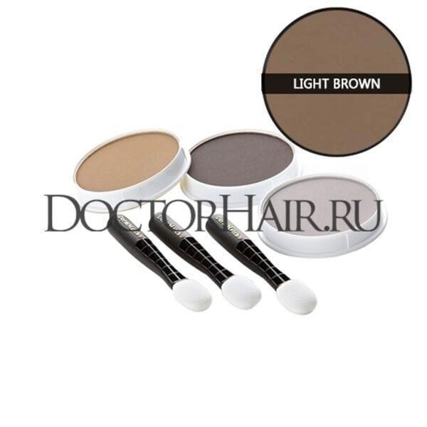 Пудра для волос DermMatch (светло-коричневый)