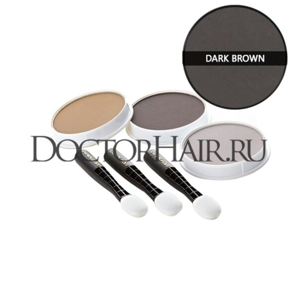 Пудра для волос DermMatch (темно-коричневый)