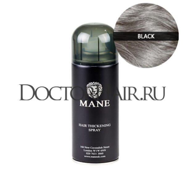 Спрей загуститель волос Mane (черный)