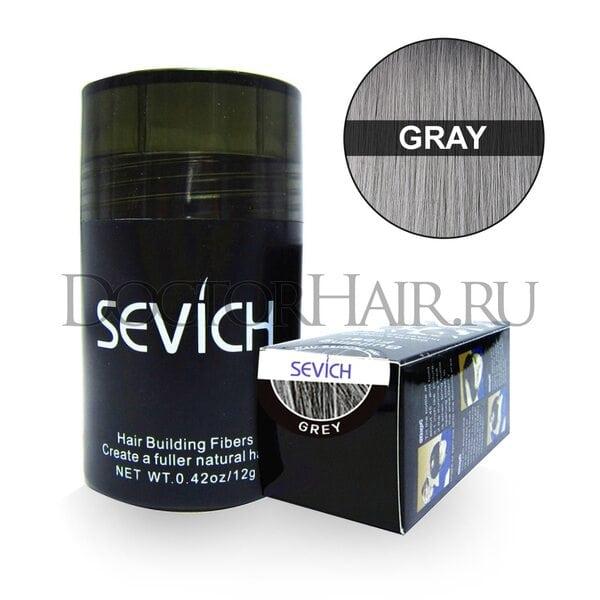 Купить Пудра загуститель для волос Sevich (седой) фото
